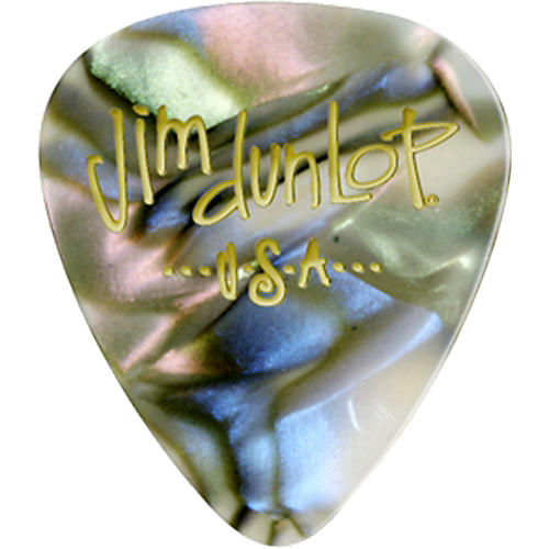 Dunlop Celluloid Classic Guitar Picks 1 Dozen Abalone Heavy