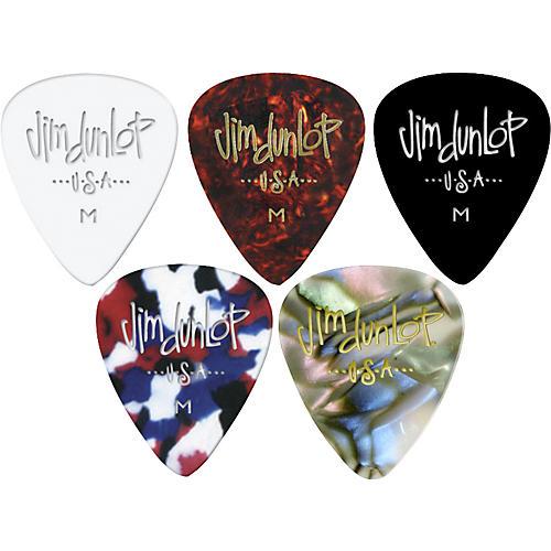 Dunlop Celluloid Classic Guitar Picks 1 Dozen Confetti Heavy