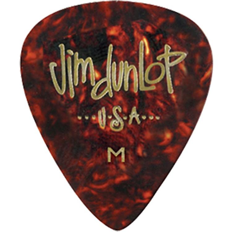 DunlopCelluloid Classic Guitar Picks 1 DozenAbaloneHeavy