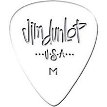 Dunlop Celluloid Classic Guitar Picks 1 Dozen White Extra Heavy
