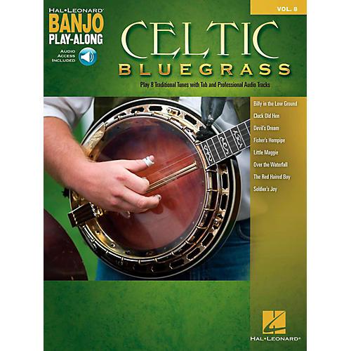 Hal Leonard Celtic Bluegrass - Banjo Play-Along Vol. 8 (Book/Audio Online)-thumbnail