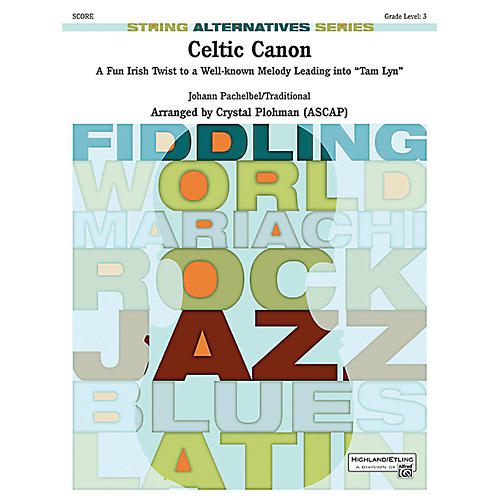 Alfred Celtic Canon String Orchestra Grade 3 Set-thumbnail