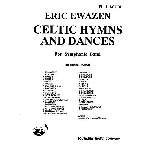 Southern Celtic Hymns and Dances (Band/Concert Band Music) Concert Band Level 4 Composed by Eric Ewazen-thumbnail