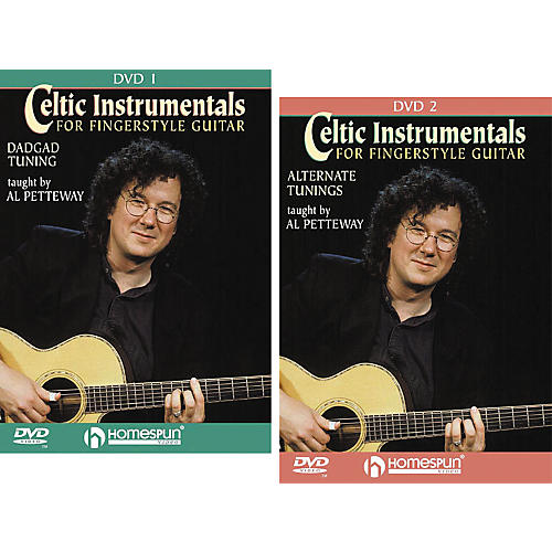 Homespun Celtic Instrumentals for Fingerstyle Guitar (2-DVD Set)-thumbnail