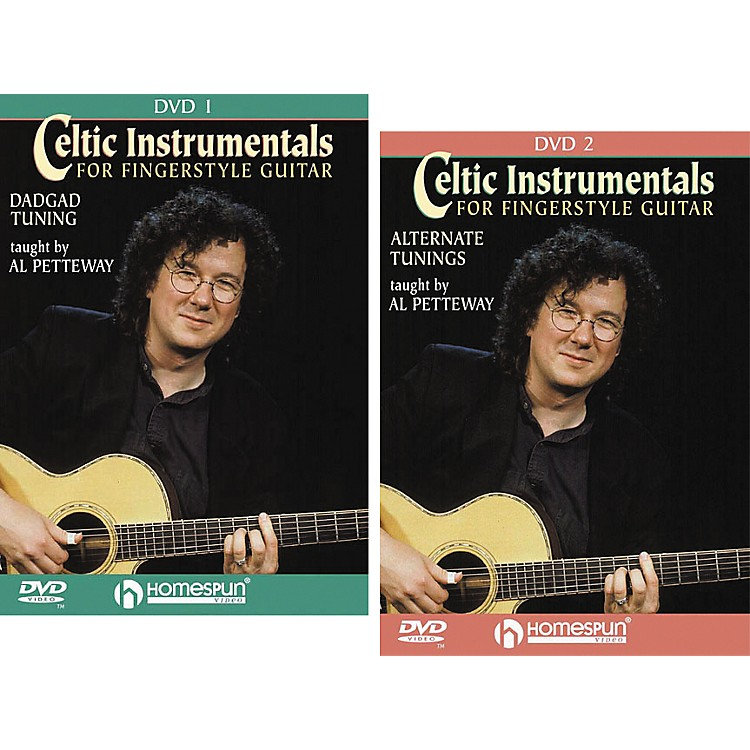 Homespun Celtic Instrumentals for Fingerstyle Guitar (2-DVD Set)