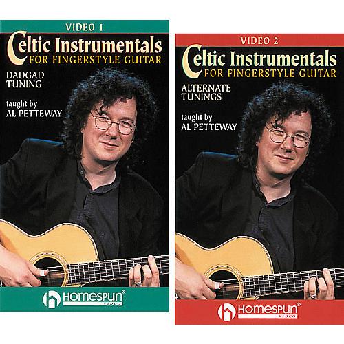 Homespun Celtic Instrumentals for Fingerstyle Guitar 2-Video Set (VHS)