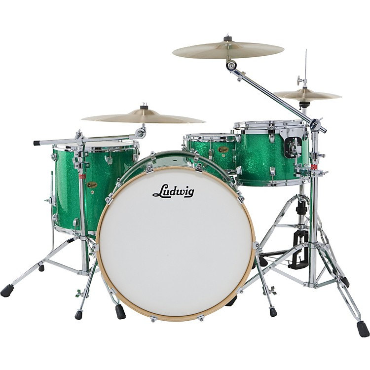 Ludwig Centennial 4-Piece Shell Pack with 22