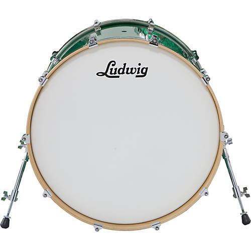 Ludwig Centennial Bass Drum Black Lacquer 20X20
