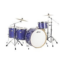 Ludwig Centennial Zep 4-Piece Shell Pack Blue Sparkle