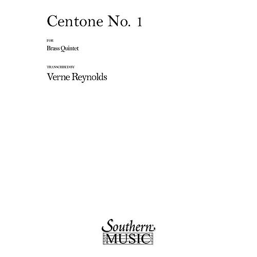 Southern Centone No. 1 (Brass Quintet) Southern Music Series Arranged by Verne Reynolds-thumbnail