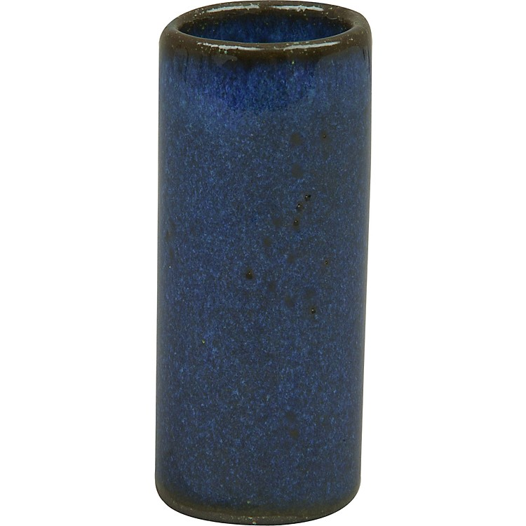 Rocky Mountain Slides Ceramic Blues Boy Guitar Slide Bayou Blue