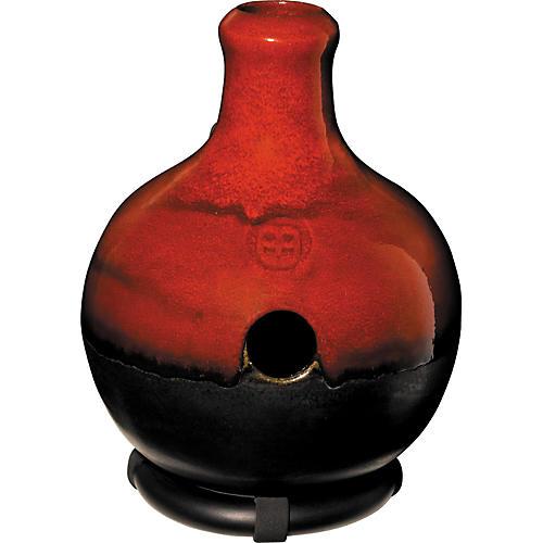 Meinl Ceramic Ibo Drum Red Burst Large/With Fiberglass Bottom