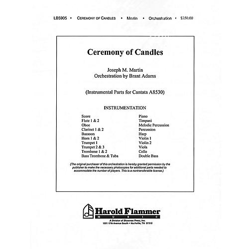 Shawnee Press Ceremony of Candles (Orchestration/Conductor's Score) Score & Parts composed by Joseph M. Martin-thumbnail