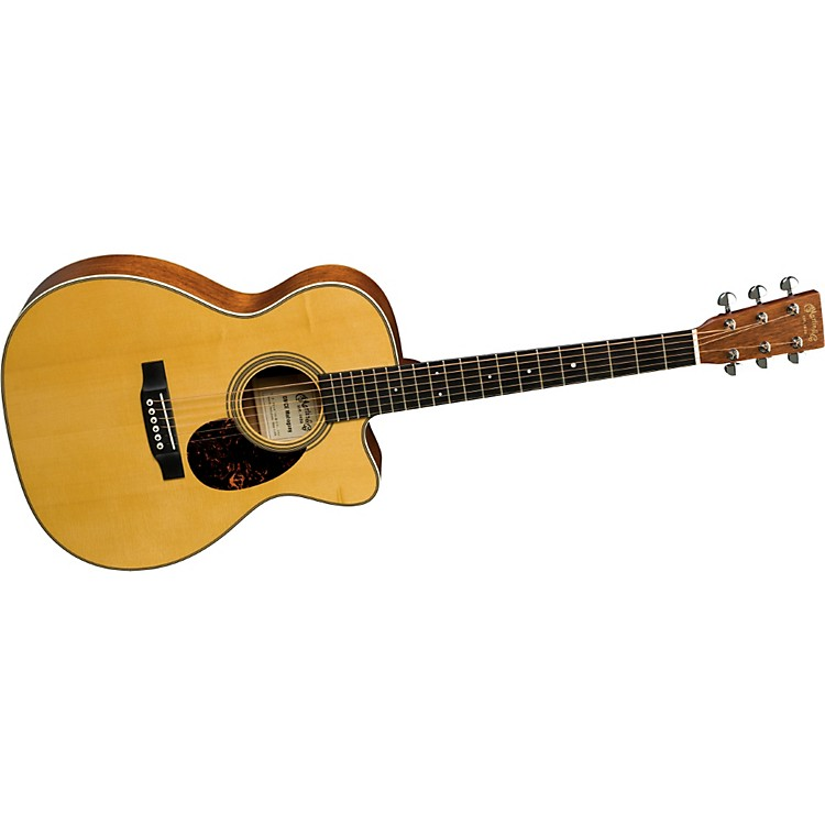 MartinCertified Wood Series OMCE Mahogany Acoustic-Electric Guitar