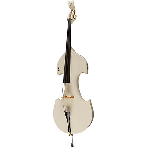 Bridge Cetus Series 4-String Electric Double Bass White