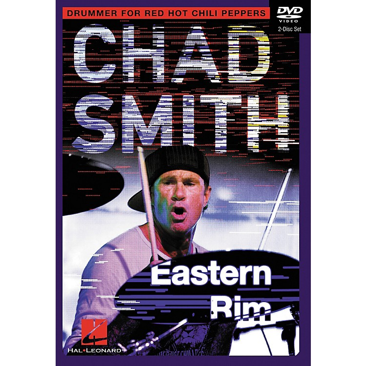 Hal Leonard Chad Smith Eastern Rim Drum Instruction 2-DVD set