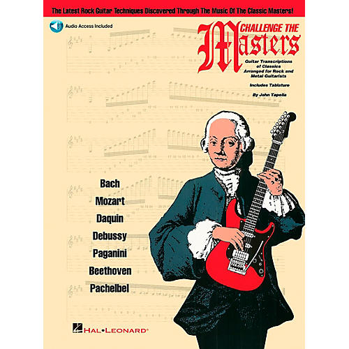 Hal Leonard Challenge The Masters Guitar School Book with CD