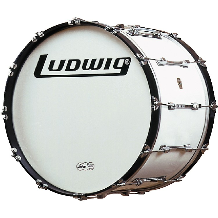Ludwig Challenger Bass Drum White 20 Inch