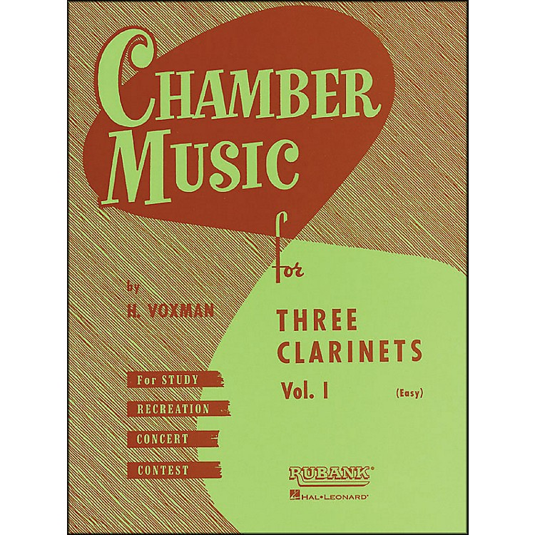 Hal LeonardChamber Music Series Three Clarinets Vol. 1
