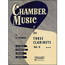 Hal Leonard Chamber Music Series Three Clarinets Vol. 2