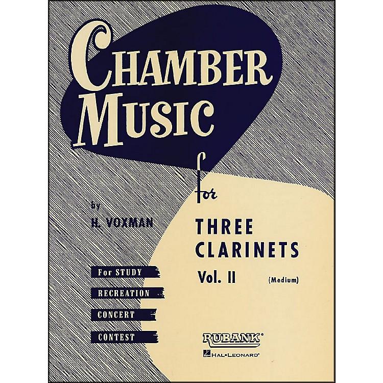 Hal LeonardChamber Music Series Three Clarinets Vol. 2