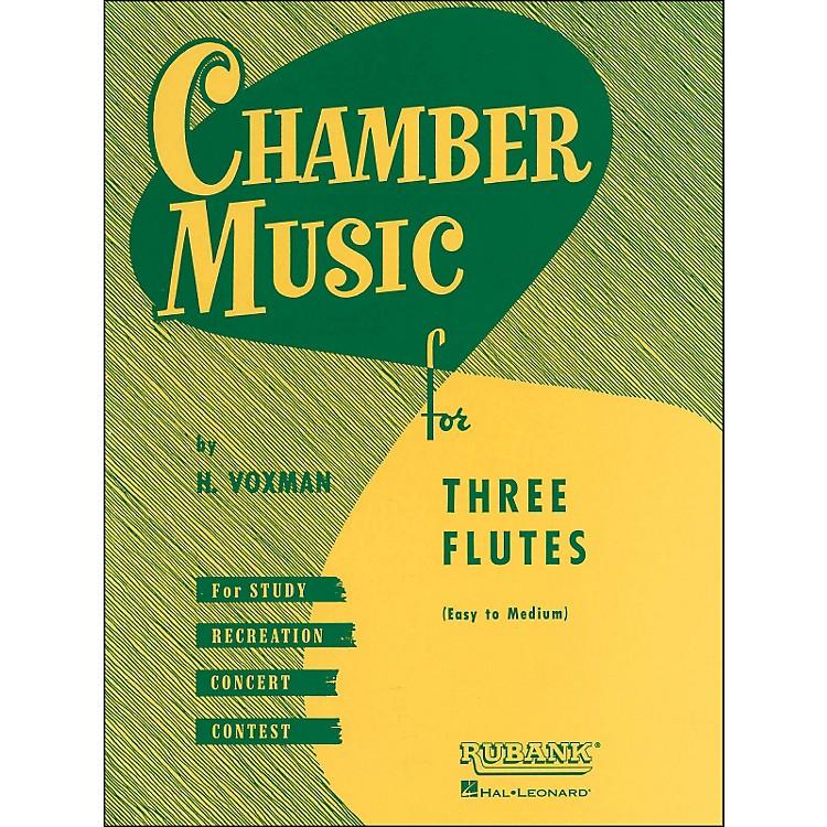 Hal LeonardChamber Music Series for Three Flutes - Easy To Medium Level In Score form