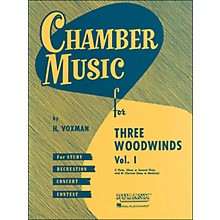 Hal Leonard Chamber Music Series for Three Woodwinds, Vol. 1 Flute, Oboe Or 2nd Flute, And Clarinet