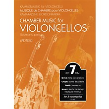 Editio Musica Budapest Chamber Music for 3 Violoncellos - Volume 7 EMB Series Composed by Various Arranged by Pejtsik