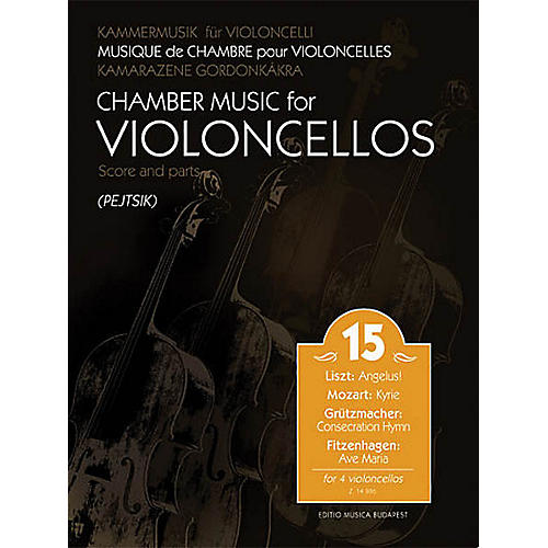 Editio Musica Budapest Chamber Music for Cellos Vol. 15 EMB Series Softcover Composed by Various-thumbnail
