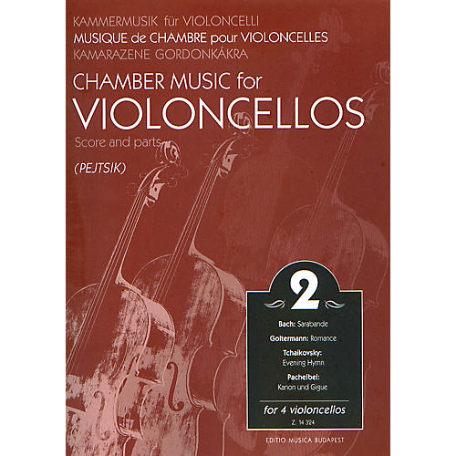 Editio Musica Budapest Chamber Music for Four Violoncellos - Volume 2 EMB Series-thumbnail