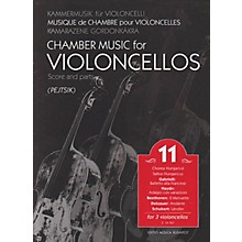 Editio Musica Budapest Chamber Music for Violoncellos, Vol. 11 (Three Violoncellos Score and Parts) EMB Series by Various