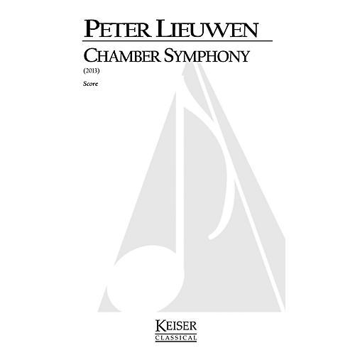 Lauren Keiser Music Publishing Chamber Symphony (Full Score) LKM Music Series by Peter Lieuwen