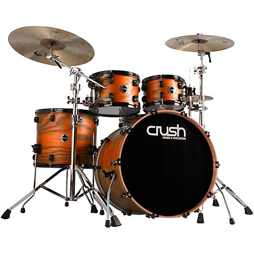 Crush Drums & Percussion Chameleon Ash 5-Piece Shell Pack with 24