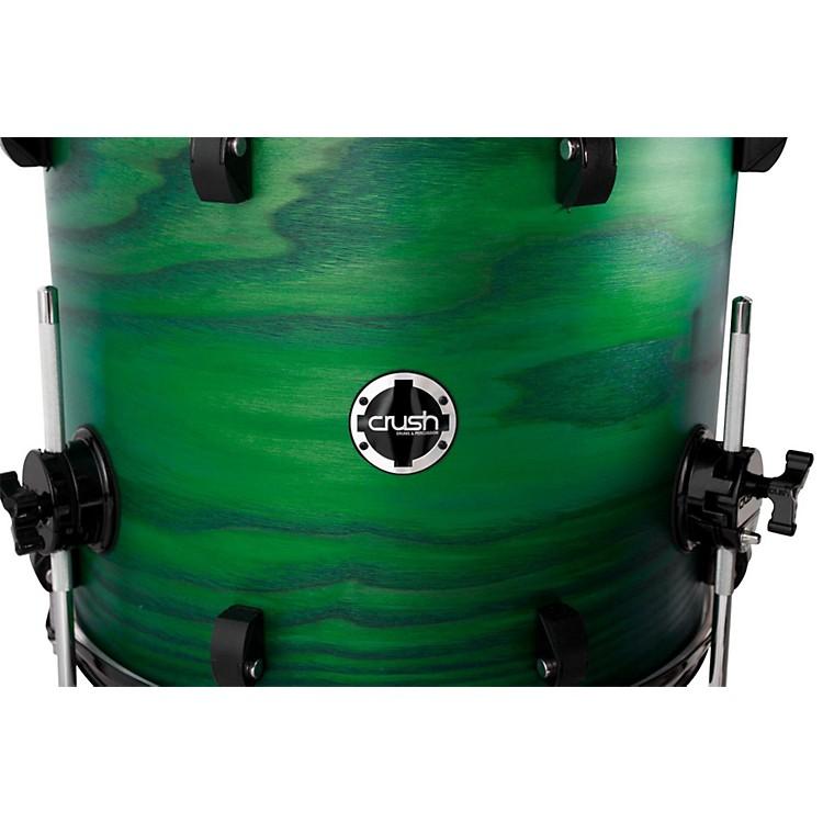 Crush Drums & PercussionChameleon Ash Floor TomTrans Satin Green Lacquer18x16