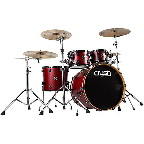 Crush Drums & Percussion Chameleon Ash Trans Lacquer 5-Piece Shell Pack-thumbnail