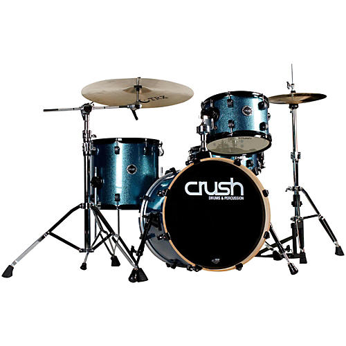 Crush Drums & Percussion Chameleon Birch 4-Piece Shell Pack Bop Kit-thumbnail