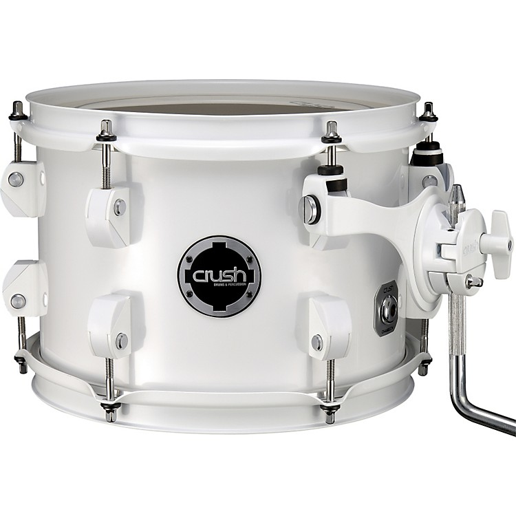 Crush Drums & Percussion Chameleon Birch Tom White PVC 8x6