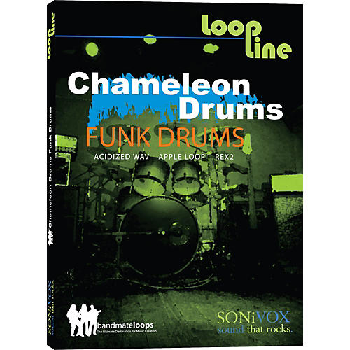 Sonivox Chameleon Funk Drums 1 Loop Collection