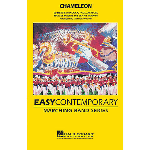 Hal Leonard Chameleon Marching Band Level 2-3 Arranged by Michael Sweeney-thumbnail