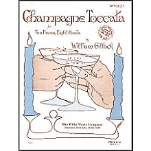 Willis Music Champagne Toccata 2 Piano, 8 Hands Early Advanced Level by William Gillock