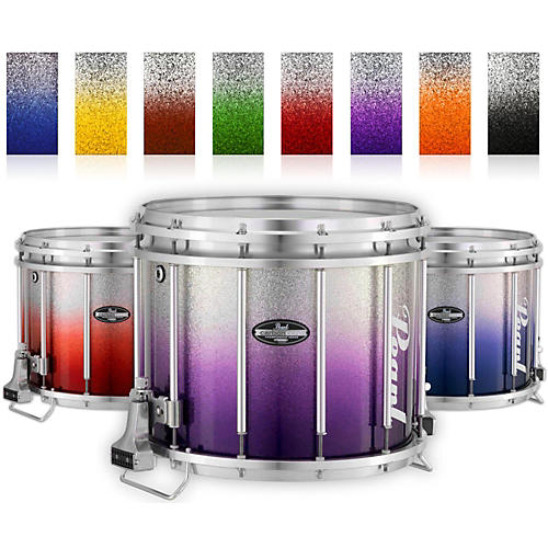 Pearl Championship CarbonCore Varsity FFX Marching Snare Drum Fade Bottom Finish-thumbnail
