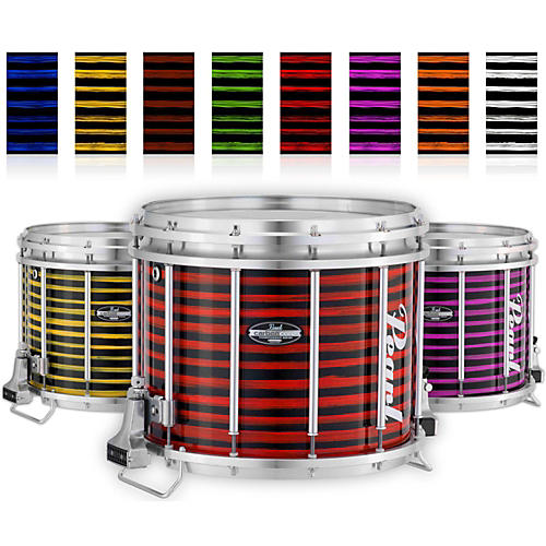 Pearl Championship CarbonCore Varsity FFX Marching Snare Drum Spiral Finish 14 x 12 in. Yellow #991
