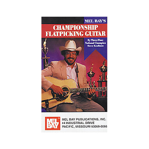 Mel Bay Championship Flat Picking Guitar Video