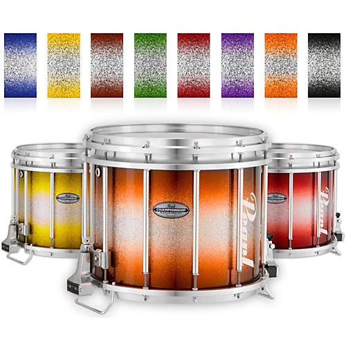 Pearl Championship Maple Varsity FFX Marching Snare Drum Burst Finish 14 x 12 in. Garnet Silver #972