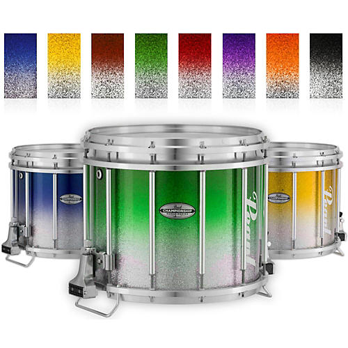 Pearl Championship Maple Varsity FFX Marching Snare Drum Fade Top Finish 14 x 12 in. Purple Silver #977