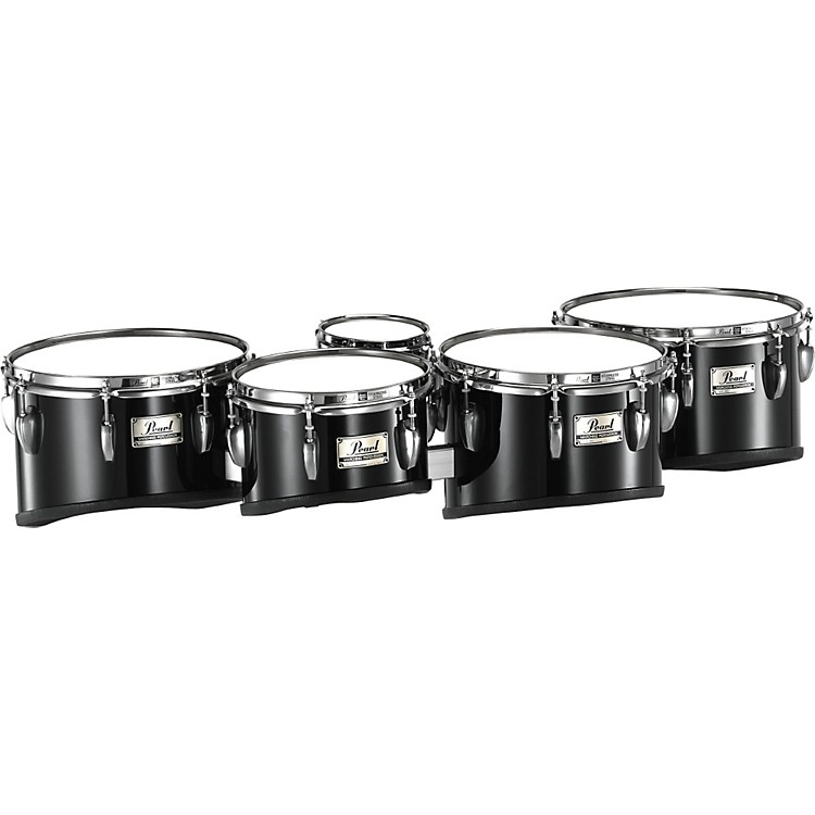 PearlChampionship Shallow Cut Marching Quint Tom Set 6, 10, 12, 13, 14#33 Pure White6 X 8