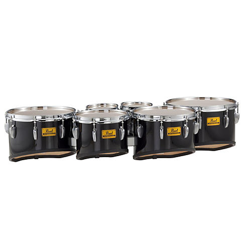 Pearl Championship Shallow Cut Marching Sextet Tom Set 6, 6, 10, 12, 13, 14