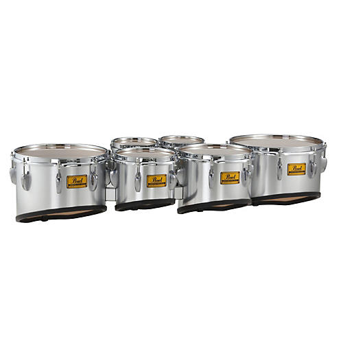 Pearl Championship Shallow Cut Marching Sextet Tom Set 6, 6, 8, 10, 12, 13