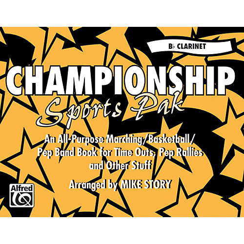Alfred Championship Sports Pak B-Flat Clarinet-thumbnail