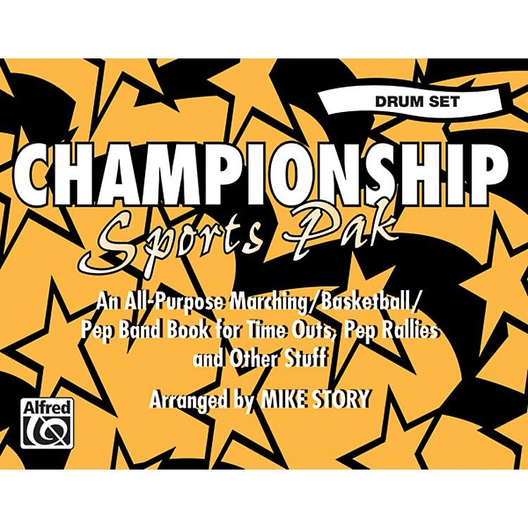 AlfredChampionship Sports Pak Drum Set
